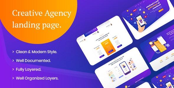 Semko - App Landing Page PSD Template - PSD Templates