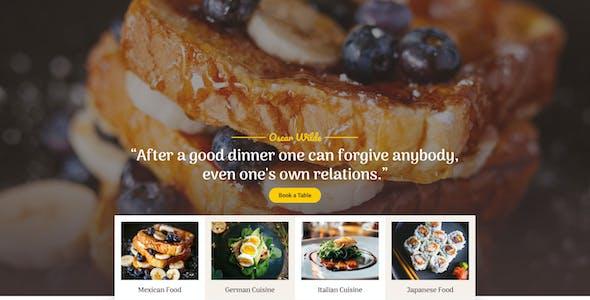 Coliv - Restaurant Template Kit
