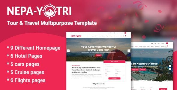 Nepayatri - Tour & Travel Multipurpose Template - Travel Retail