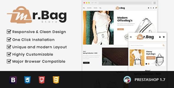 MrBag Store Prestashop 1.7 Responsive Theme - Miscellaneous PrestaShop