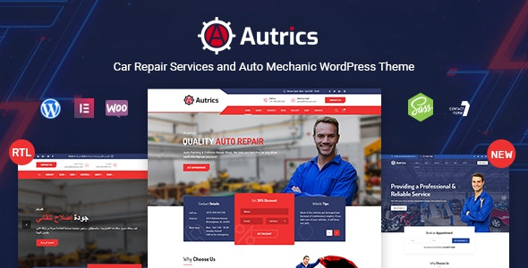 Autrics | Car Services and Auto Mechanic WordPress Theme - Business Corporate