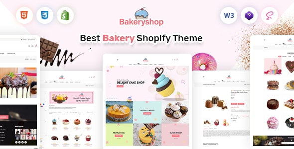 Bakeryshop Shopify Cake Shop Bakery Theme