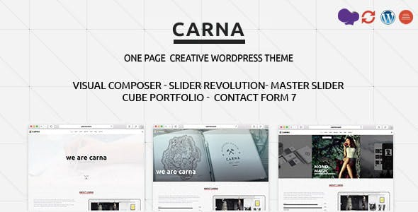 Carna | Responsive Multi-Purpose WordPress Theme