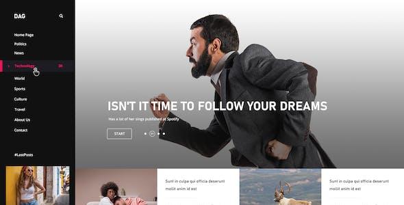 Dag - Creative Agency PSD Template