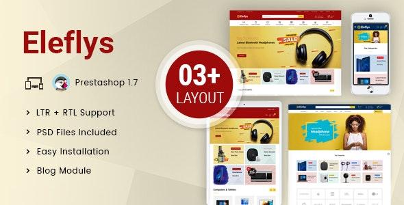 Eleflys - Mega Electronics Prestashop 1.7 Responsive Theme - Shopping PrestaShop