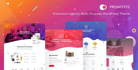 PromoSys - Promotion Services Multi-Purpose WordPress Theme - Marketing Corporate