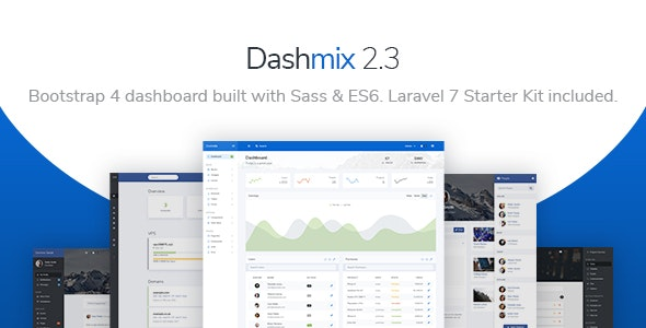 Dashmix - Bootstrap 4 Admin Dashboard Template & Laravel 7 Starter Kit - Admin Templates Site Templates