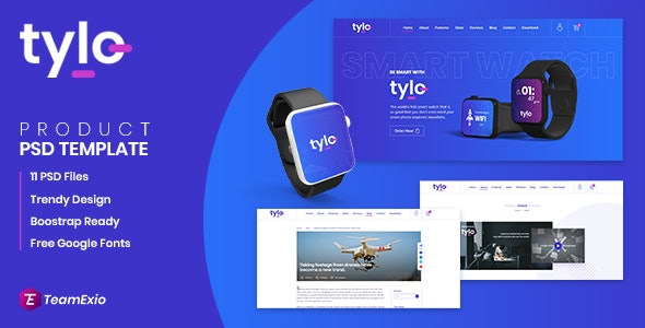 Tylo - Gadgets eCommerce PSD Template - Shopping Retail