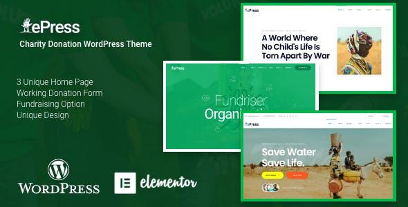 Download ePress -  Charity Theme