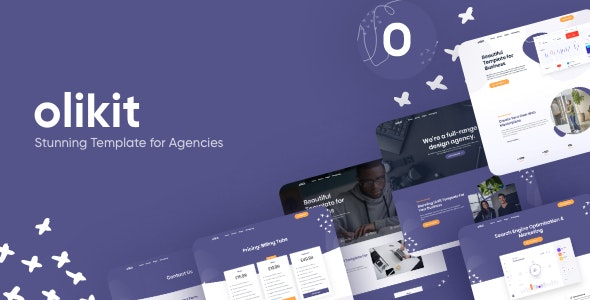 Olikit - Creative SaaS & Agency  Template - Software Technology