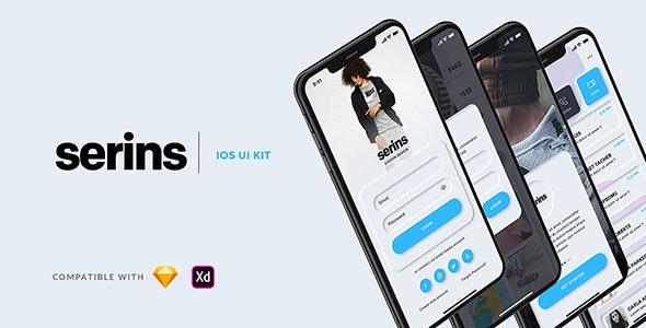 Serins - Multipurpose UI kit - Sketch Templates