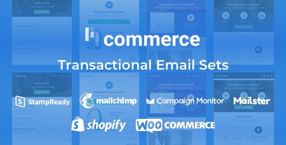 Lil Commerce - Transactional Email Sets + Woo and Shopify Integration - Miscellaneous Email Templates