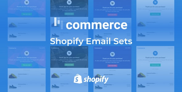 Lil Commerce - Shopify Email Notification Sets - Email Templates Marketing