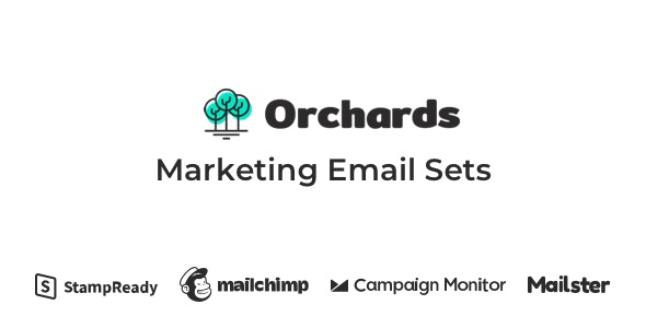Orchards - Marketing Email Sets - Email Templates Marketing