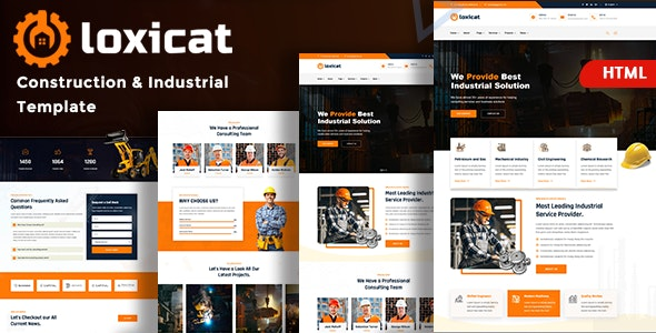 Factory & Industry - Loxicat - Business Corporate