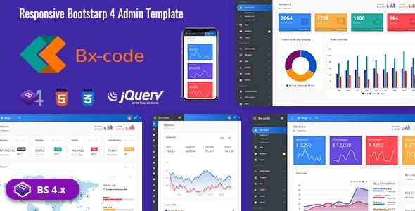 Bx-Code Responsive Admin Dashboard Template - Admin Templates Site Templates