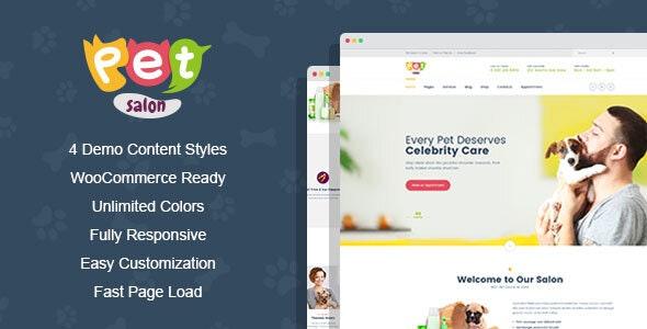 PetSpace - Animal Care & Grooming WordPress Theme - Business Corporate