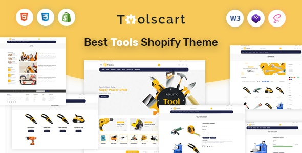 Toolscart - Tools Store Shopify Theme - Shopping Shopify