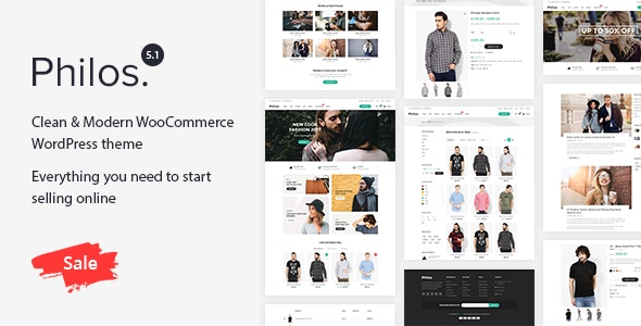 Philos - WordPress тема  для WooCommerce