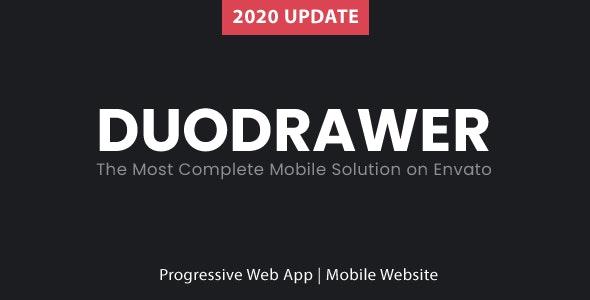 DuoDrawer Mobile Kit - Mobile Site Templates