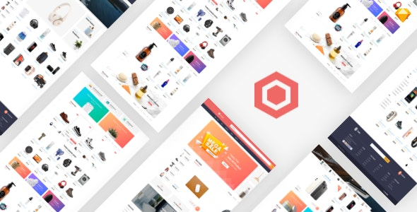 Coolin - Megashop Sketch Template - Sketch Templates