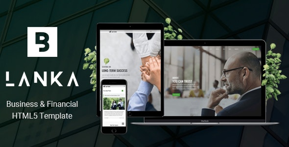 Blanka - Business & Financial HTML5 Template - Corporate Site Templates