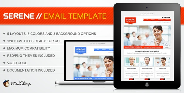 Serene Email Template - Email Templates Marketing