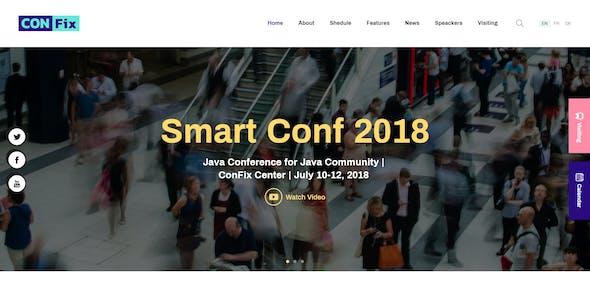 ConFix - Expo & Events WordPress Theme