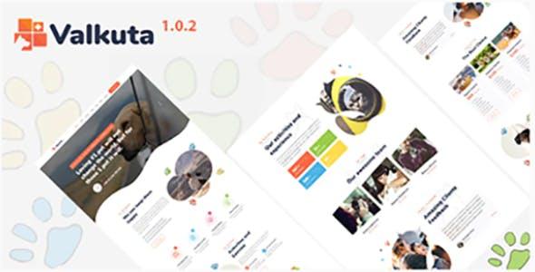 Valkuta -  Pet HTML5 Template