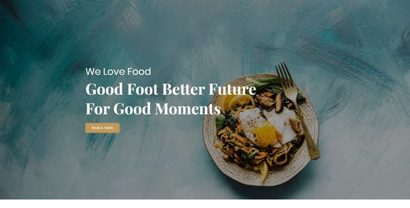 FoodKit - Restaurant Template Kit
