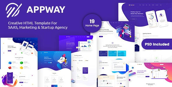 Appway - Saas & Startup HTML Template - Technology Site Templates