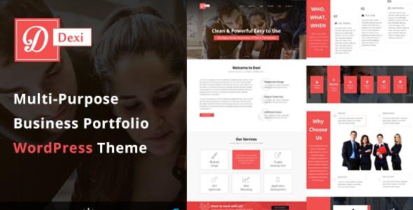 Dexi - Multi Purpose Business Portfolio WordPress Theme