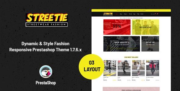 Ap Streetie - Prestashop Street Style Fashion Theme - Fashion PrestaShop