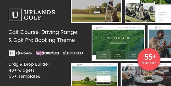 Uplands - Golf Course WordPress Theme - Entertainment WordPress