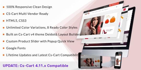 Olympia - Responsive CS-Cart Theme - CS-Cart eCommerce