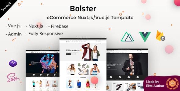 Bolster - Vue Nuxt.js eCommerce Template - Shopping Retail