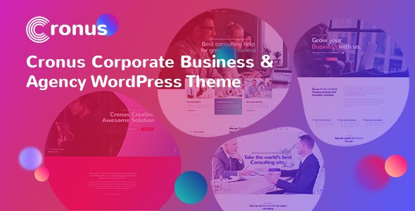 Cronus Plus - Corporate Business and Agency WordPress Theme - Business Corporate