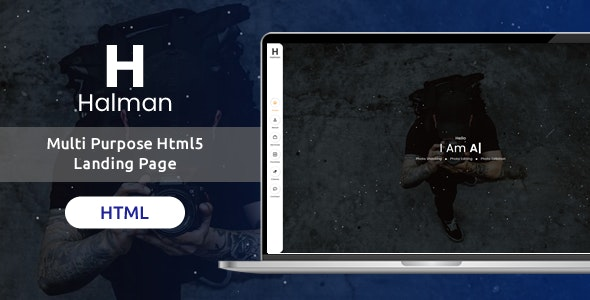 Halman | Multi Purpose Html5 One Page Template - Site Templates