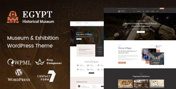 Download Egypt - Museum & Exhibition WordPress Theme