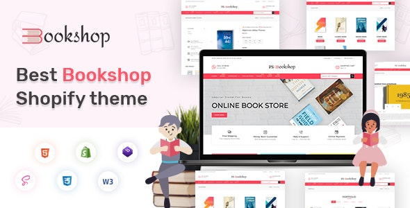 BooksCart  - eBooks , Book Store Shopify Theme - Shopping Shopify