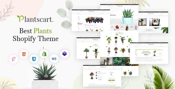 Plantscart - Nursery Plants Shopify Multi-Purpose Responsive Theme - Shopping Shopify
