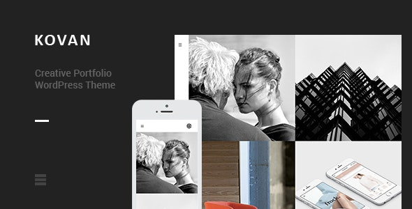 Kovan - Creative Portfolio WordPress Theme - Portfolio Creative