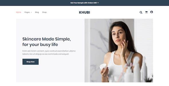 Khubi - Dermatologist & Skin Care Template Kit