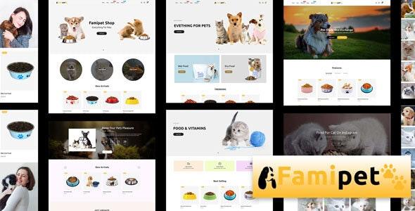 Famipet - Pet Food Shop Responsive Shopify Theme - Shopify eCommerce