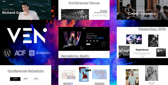 Ven - Creative Event & Portfolio WordPress Theme - Portfolio Creative