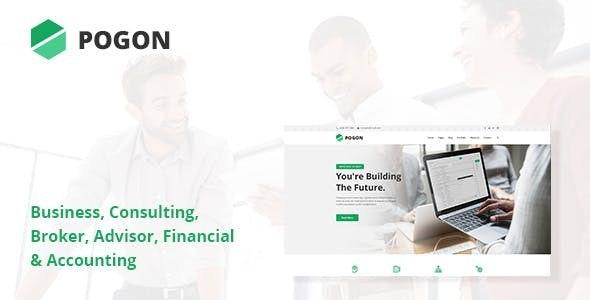 Pogon - Business and Finance Corporate WordPress Theme - Business Corporate