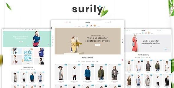 Surily - Fashion eCommerce Prestashop 1.7 & 1.6 Responsive Themes