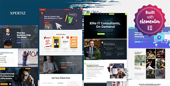 Xpertiz - WordPress Theme For Advisors And Experts - Business Corporate