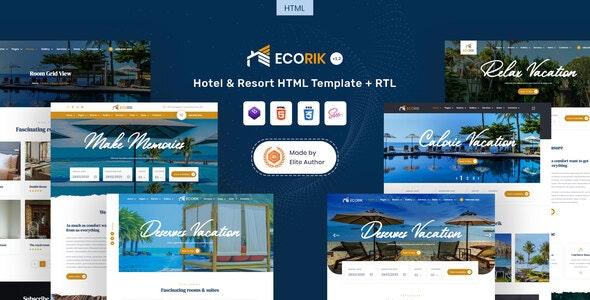 Ecorik - Hotel & Resort HTML Template - Travel Retail