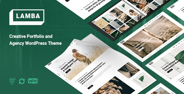 Lamba - Creative Portfolio & Agency WordPress Theme - Portfolio Creative